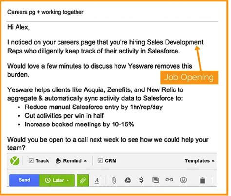 How To Mention Reference In Application Email by 6 Uniquely Personalized Emails That Prospects Actually