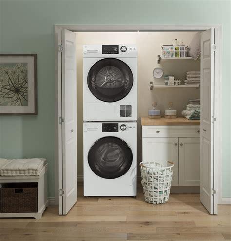gfwssmww ge   cu ft stackable compact washer  steam