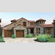 Mediterranean House Plans, Beachstyle Exterior Design By Thd