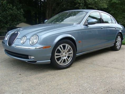 Light Blue Jaguar by Purchase Used Estate Sale Light Blue Jaguar S Type 2003 1