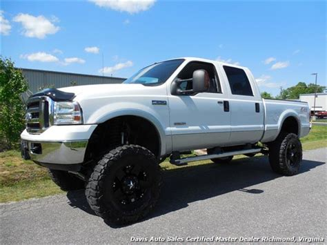 2006 Ford F 250 Powerstroke Diesel Lariat FX4 Lifted 4X4