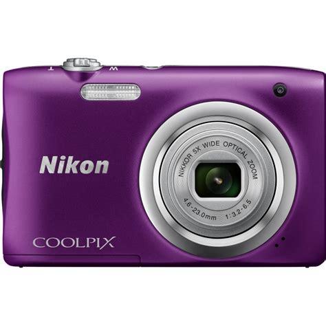 nikon coolpix purple nikon coolpix a100 purple compact cameras nordic digital Nikon Coolpix Purple