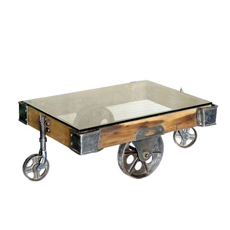 5 Best Factory Cart Coffee Tables  With Wheel Legs  Tool Box