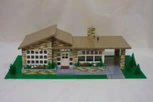 LEGO Modern House Plans