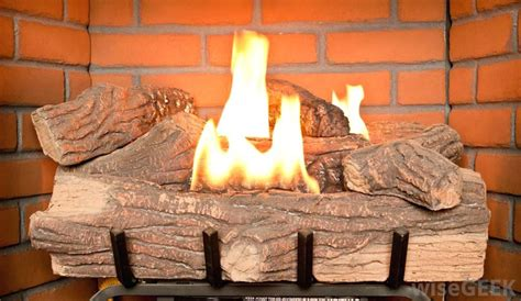 fake fireplace logs battery operated