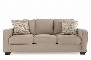 ashley alenya quartz sofa mathis brothers furniture With alenya sectional sofa in quartz