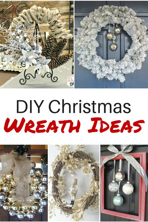 diy christmas wreath ideas youll love diva of diy