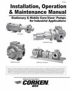 Installation  Operation  U0026 Maintenance Manual