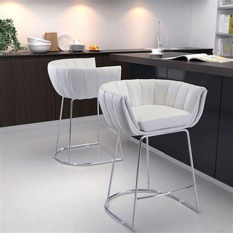 alen air modern counter stools leandra white stool eurway