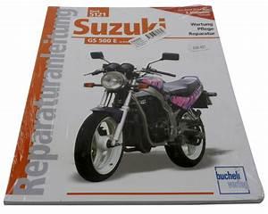 Manual Suzuki Gs 500 E From 1989  Maintenance Book  Repair