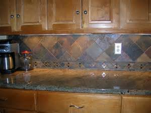 slate tile kitchen backsplash kitchen backsplash 4 quot slate tile on point flickr photo