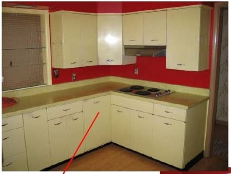 metal kitchen cabinets how to paint   Kitchen makeover in