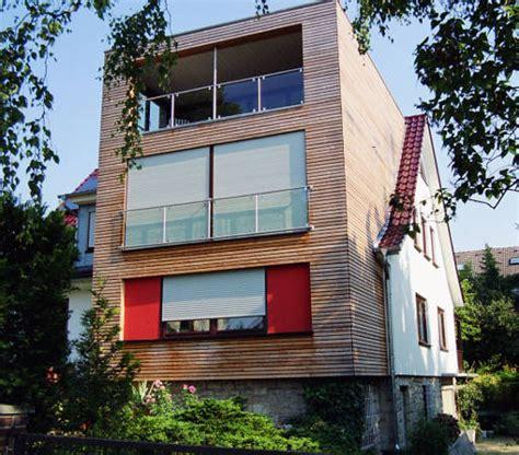 holzständerbauweise anbau kosten m2 anbau aufbau dach fertighaus sander haus hofgeismar