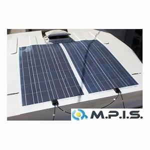 Panneau Solaire 100w : panneau solaire flexible 100w 12v cellules haut ~ Nature-et-papiers.com Idées de Décoration