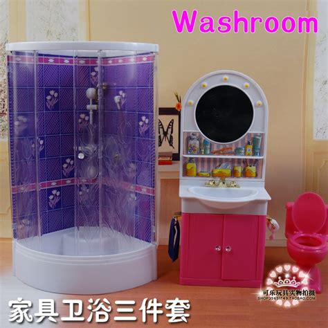 New Arrival Cute Bathroom Doll Accessories Furniture For