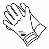 Gloves Coloring Drawing Pages Colouring Ultra Clipartmag sketch template