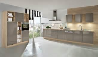 küche grau hochglanz trend einbauküche aspen basaltgrau glaenzend küchen quelle