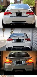 Bmw E92 Coupe : m3 lci style 3d stripe bar led tail lights for bmw 3 ~ Jslefanu.com Haus und Dekorationen