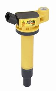 Accel 140074 Ignition Coil - Supercoil - Toyota 3 0l