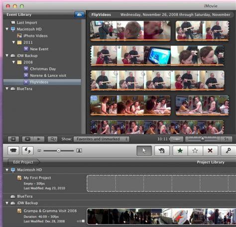 move imovie files   save space   mac os