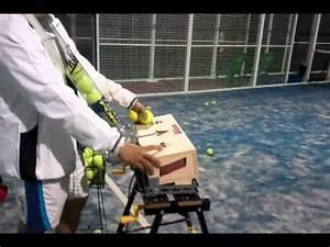 maquina lanza pelotas de tenis Doovi