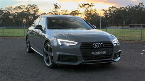 2019 Audi A4 by Audi A4 2019 Review Black Edition Carsguide