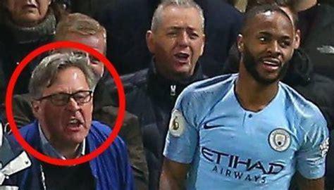 football raheem sterling verbal abuser colin wing denies