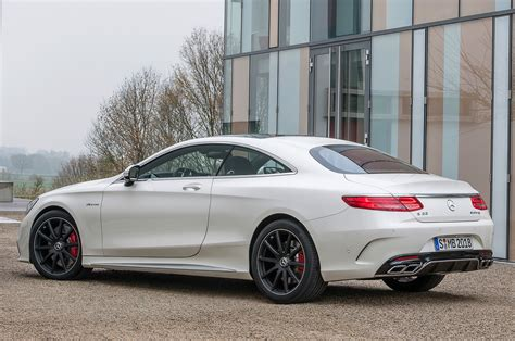 mercedes benz 2015 mercedes benz s63 amg coupe 4matic revealed motor
