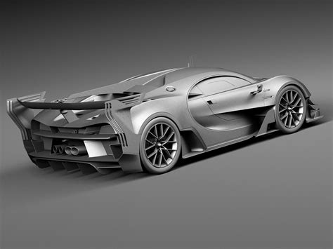 Supercar manufacturer bugatti is harnessing metal 3d printing technology to manufacture the exhaust tailpipe for its latest chiron model. Bugatti Chiron Race Car 2017 3D Model MAX OBJ 3DS FBX C4D LWO LW LWS - CGTrader.com