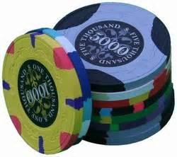 Paulson Poker Chip Sample  Try Sidepotcom