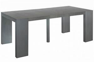 Console A Rallonge : console extensible vintage 250cm mat chicago table console pas cher ~ Teatrodelosmanantiales.com Idées de Décoration