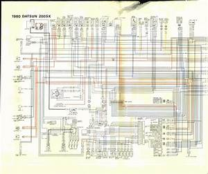 Datsun 200sx  1980  - Wire Diagram