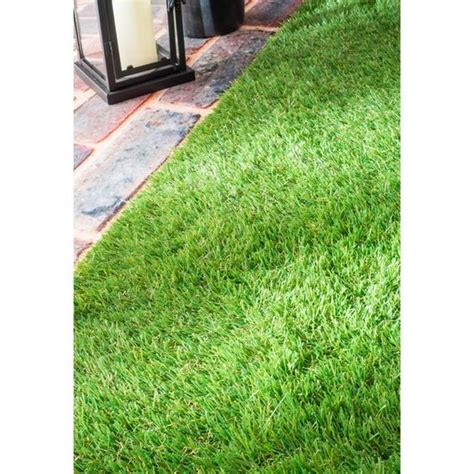 nuloom artificial grass outdoor lawn turf green patio rug