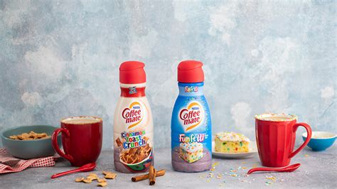 That's why we teamed up. Coffee-Mate Is Releasing Cinnamon Toast Crunch And Funfetti Creamers