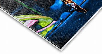 Canvas Board Prints Fine Premium Mounted Printed