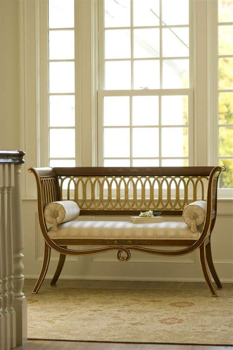 Wood Settee Furniture by Painted Style Carved Wood Settee Luxury