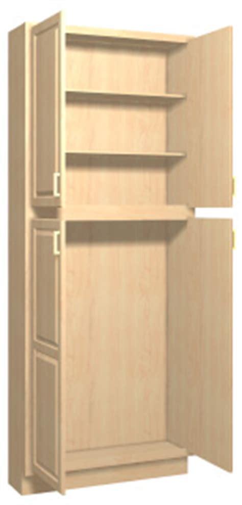 Summerfield 1 Maple Kitchen Tall Cabinets  Stain Finish