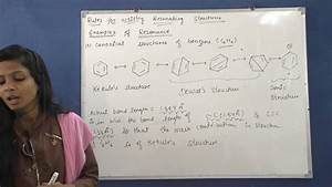 U0026quot Examples Of Resonance U0026quot    Canonical Structure Of Benzene