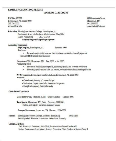 View Sle Resumes by Tax Accountant Resume Extraordinary Accounting Resume