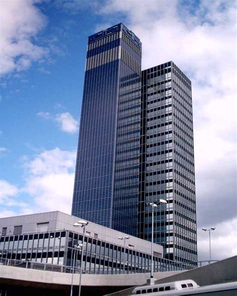 Cis Tower  Manchester Skyscraper Earchitect