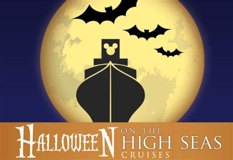 celebrating halloween at sea with disney cruise line escape official travel blog of