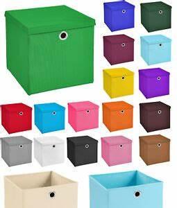 Aufbewahrungsbox Mit Deckel Stoff : 3er set aufbewahrungsbox spielkiste regalkorb faltkiste korb kinderbox stoff box ebay ~ Watch28wear.com Haus und Dekorationen
