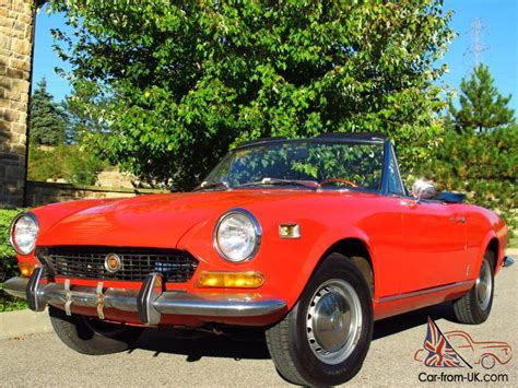 1974 Fiat Spider by 1974 Fiat 124 Sport Spider 1800 Roadster Only 15 000