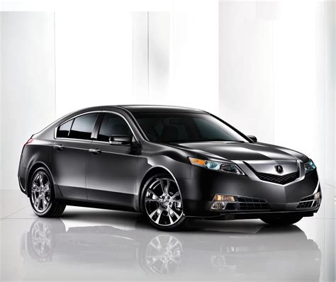 All New 2009 Acura Tl Unveiledthe Most Powerful Acura