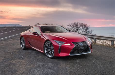 Lc 500 Lexus Cost by Lexus Lc 500 500h On Sale In Australia From 190 000