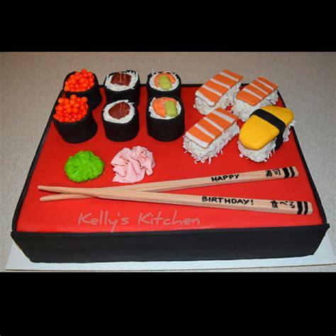 sushi birthday cake sushi birthday cake cakecentral