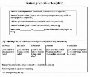 Agenda template category page 1 efozacom for Training module template