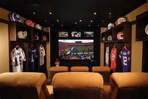 Locker Room Theater - Modern - Home Theater - cleveland