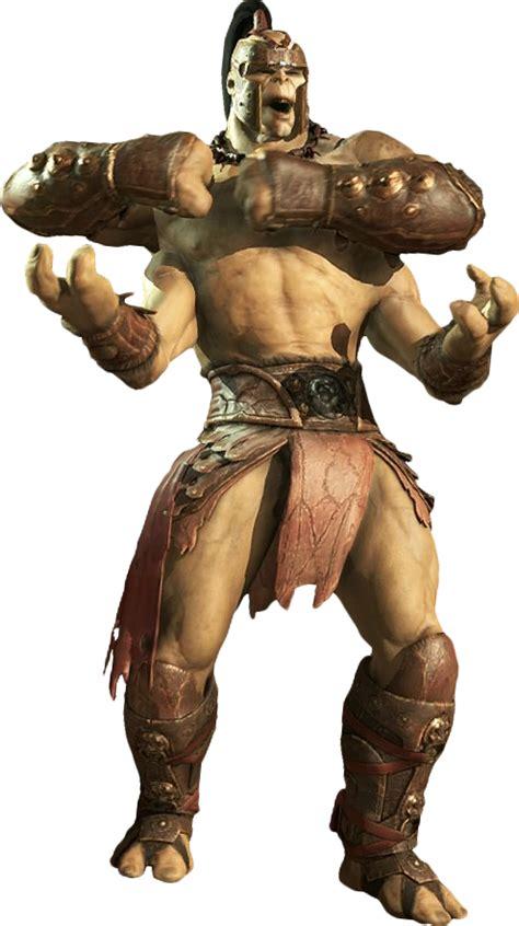Goro Kuatan Warrior Mortal Kombat X Render By
