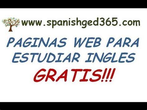 Paginas Para Aprender Ingles Gratis!!!! Youtube